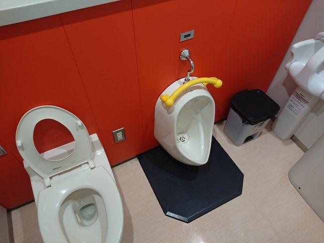 子供用のトイレ